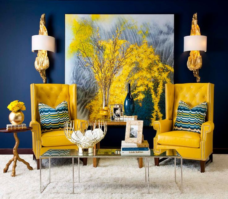 Contrasting Colors in Room