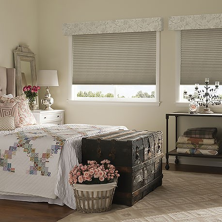 Cordless Top Down Bottom Up Single Cell Blackout Shades
