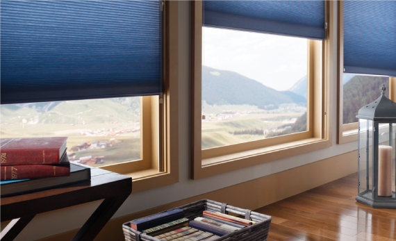 Rvalue insulating cellular window treatments for Window insulation values
