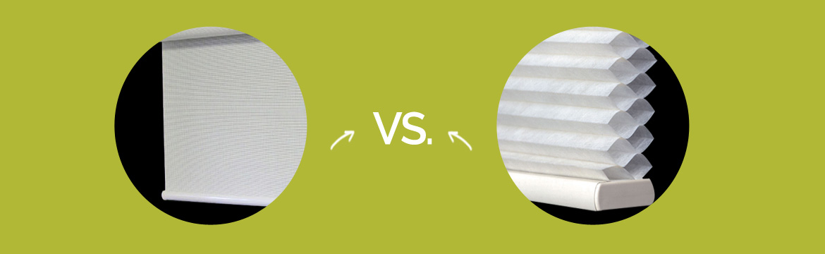 Product Comparison Roller Shades Vs Cellular